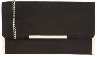 Lotus Black 'Flamina' Clutch Bag