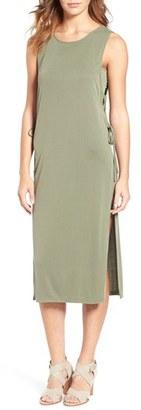 Women's Splendid Sandwash Ribbed Tank Dress $94 thestylecure.com