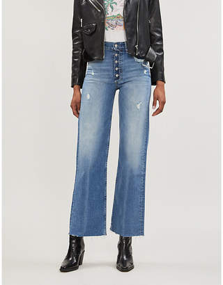Selfridges Boyish The Mikey wide-leg high-rise jeans