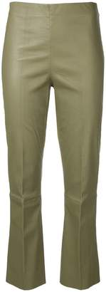 By Malene Birger Florentina stretch-fit leather trousers