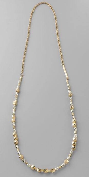 Rachel Leigh Golden Nugget Long Necklace