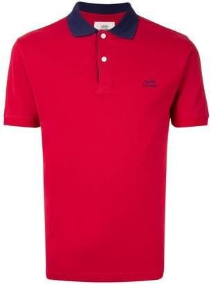 Kent & Curwen contrast collar polo shirt