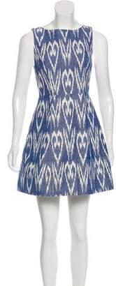 Alice + Olivia Sleeveless Printed Mini Dress