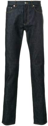 Givenchy stars patch slim fit jeans
