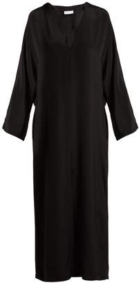Raey Kimono-sleeve silk beach dress