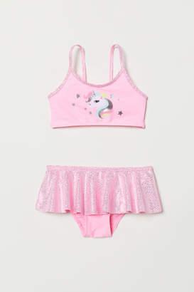 H&M Glittery Bikini - Pink