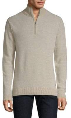 Bugatti Half-Zip Sweater