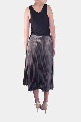 Fate Pleated Maxi Skirt