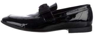 Acne Studios Patent Leather Bow-Accented Loafers