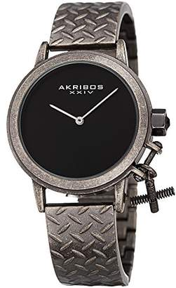 Akribos XXIV Women's Swiss Quartz Stainless Steel Casual Watch