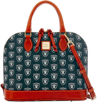 Dooney & Bourke NFL Raiders Zip Zip Satchel