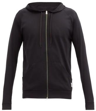 Paul Smith Zip Through Cotton Hooded Sweatshirt - Mens - Black