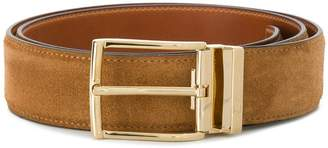 Santoni adjustable buckle belt