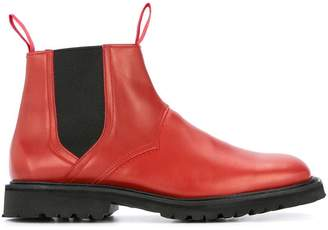 MACKINTOSH 0002 square toed chelsea boots