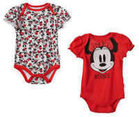 Disney Minnie Mouse Bodysuit Set for Baby - Red