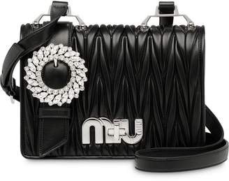 Miu Miu (ミュウミュウ) - Miu Miu matelassé satchel bag