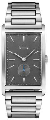 Uri Minkoff Pesaro Silver Tone Bracelet Watch, 27MM X 45.5MM
