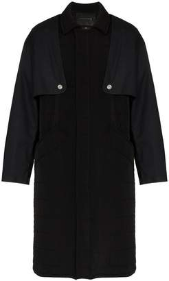 MACKINTOSH 0003 Quilted removable layer trench coat