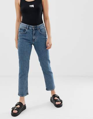 Cheap Monday organic cotton mom jeans with cropped leg