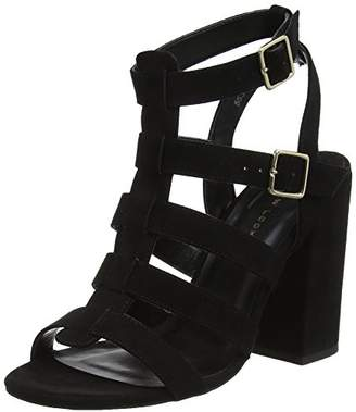 3ff03e0fe47b New Look Black Heeled Sandals For Women - ShopStyle UK