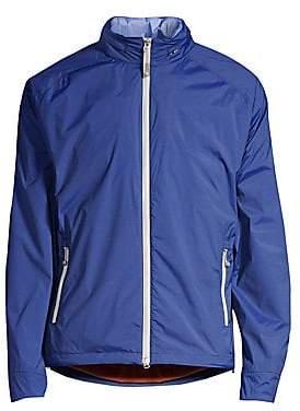 Peter Millar Men's Seaside Hooded Windbreaker Jacket