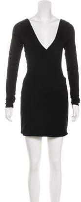 Rag & Bone Ruched Mini Dress