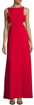 Jill Stuart Women's Cutout Bateauneck Gown