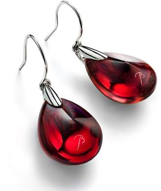 Baccarat Psydelic Crystal Drop Earrings