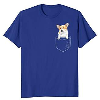 Corgi in Pocket Shirt
