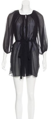 Marysia Swim Tie Mini Dress w/ Tags $75 thestylecure.com
