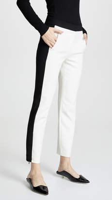 Tibi Skinny Tuxedo Pants