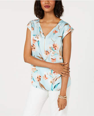 JM Collection Printed Top