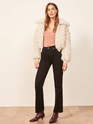 Reformation Candice High Bootcut Jean