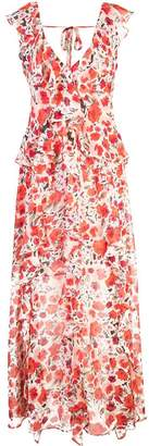 MISA Los Angeles floral print maxi dress