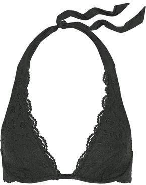 Jet Set Heidi Klum Swim Dreamer Stretch-lace Underwired Halterneck Bikini Top
