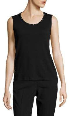 Rafaella Petite Sleeveless Cotton Tank