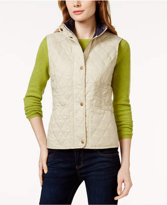 Barbour Summer Liddesdale Gilet Quilted Vest $99 thestylecure.com