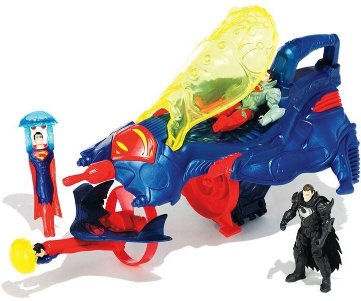 Mattel DC Comics Superman Man of Steel Flight Speeders Deluxe Strike Ship Gift Pack by Mattel