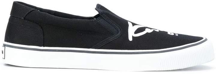 Kenzo Signature slip-on sneakers