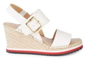 030290599 Tommy Hilfiger White Women s Sandals - ShopStyle