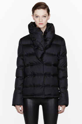 Givenchy Black Nylon Look 27 Down Puffer jacket