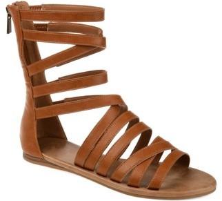 Brinley Co. Womens Back Zip Gladiator Sandal