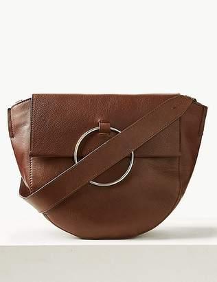 Marks and Spencer Leather Ring Detail Shoulder Bag