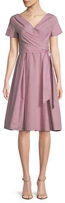 Max Mara Amaca Cotton Wrap Dress