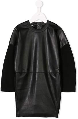 DSQUARED2 panelled shift dress