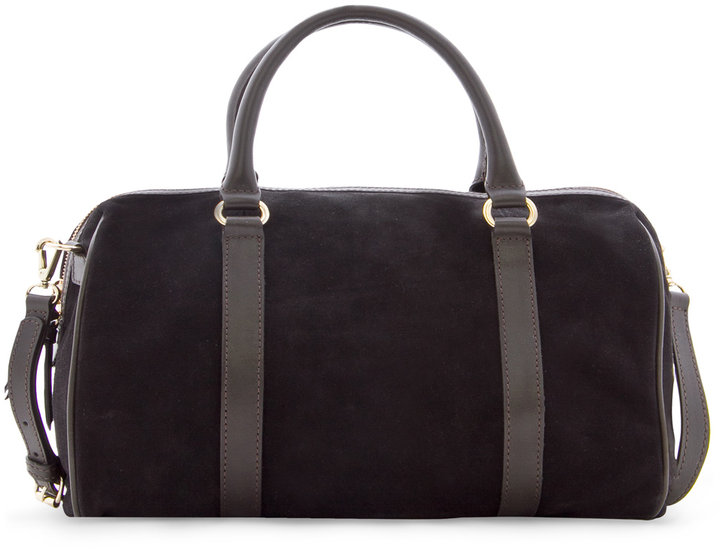 TOUCH - Suede duffle bag