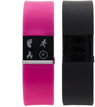 IFITNESS Women's Fitness Tracker & Interchangeable Band Set - IFT2436BK668-338 $64.99 thestylecure.com