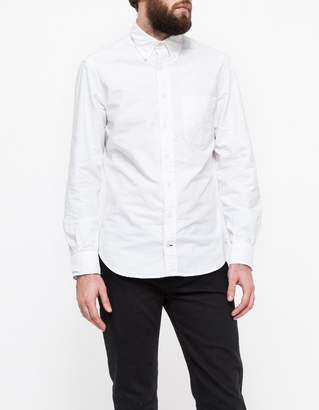 Gitman Brothers Classic Oxford in White