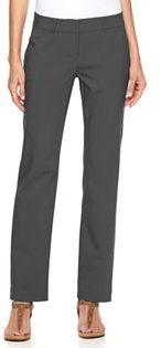 Women's Apt. 9® Torie Straight-Leg Dress Pants $48 thestylecure.com