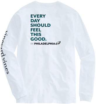 Vineyard Vines Adult Eagles Long-Sleeve EDSFTG T-Shirt